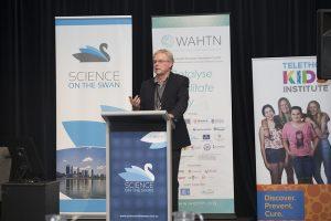 2018 Science on the Swan Gary Geelhoed presenting