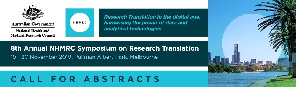 2019 NHMRC Symposium on Heath translation logo