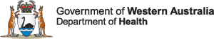WA Department of Health colour Government crest logo