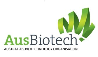 AusBiotech logo on a white background