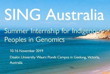 Summer Internship for Indigenous Peoples in Genomics (SING) Australia